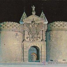 Postales: TOLEDO, PUERTA DE BISAGRA, EDITOR: ARRIBAS Nº 4601. Lote 33304938