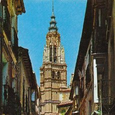 Postales: TOLEDO, CALLE DE SANTA ISABEL, EDITOR: ARRIBAS Nº 1310. Lote 33305049