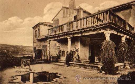 TOLEDO CASA DEL GRECO M. PALOMEQUE JARDÍN SIN CIRCULAR (Postales - España - Castilla La Mancha Antigua (hasta 1939))