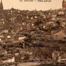 Postales: TOLEDO Nº 26 VISTA PARCIAL LNARES FOTÓGRAFO SIN CIRCULAR . Lote 33480859