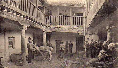 TOLEDO Nº 17 POSADA DONDE CERVANTES ESCRIBIÓ SU ILUSTRE FREGONA SIN CIRCULAR (Postales - España - Castilla La Mancha Antigua (hasta 1939))