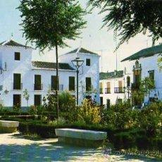 Postales: ALMAGRO PL. ESPAÑA JARDINES EDICIONES F.I.T.E.R. AÑOS 60 ESCRITA CIRCULADA SELLO. Lote 33517153