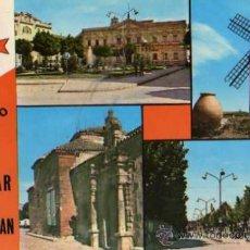 Postales: ALCAZAR DE SAN JUAN Nº 13 CORAZÓN DE LA MANCHA GRANADOS ESCRITA SIN CIRCULAR AÑO 1966. Lote 33524468