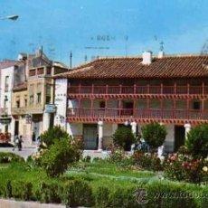 Postales: TOMELLOSO Nº 40 POSADA DE LOS PORTALES Y CALLE D. VICTOR ED. EUGENIO ESCRITA CIRCULADA SELLO. Lote 33534862