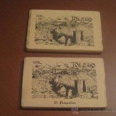 Postales: 2 DESPLEGABLES DE POSTALES DE TOLEDO. Lote 33796653