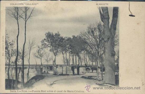 Albcete puente real sobre el canal de maria c comprar for Canal castilla la mancha