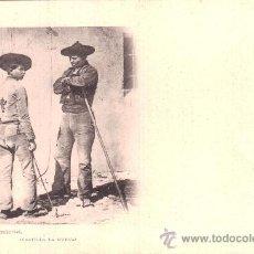 Postales: POSTAL DE TOLEDO: CARRETEROS (CASTILLA LA NUEVA). FOT. LAURENT. SERIE B. N.º 34. Lote 34230446