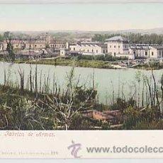 Postales: TOLEDO. FABRICA DE ARMAS. PURGER & CO 2211. REVERSO SIN DIVIDIR. SIN CIRCULAR. Lote 34512919