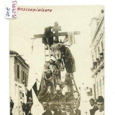 Postales: (PS-29993)POSTAL FOTOGRAFICA DE POZUELO DE CALATRAVA-PROCESION. Lote 53880574