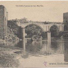 Postales: TOLEDO.- PUENTE DE SAN MARTÍN.. Lote 35126097