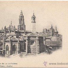 Postales: TOLEDO.- ÁBSIDE DE LA CATEDRAL.. Lote 35127120