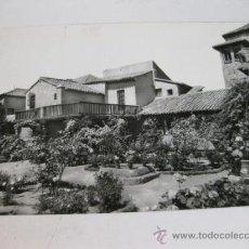 Postales: POSTAL FOTOGRAFICA DE TOLEDO - JARDIN Y CASA DEL GRECO - EDICIONES LUIS ARRIBAS. Lote 35238713