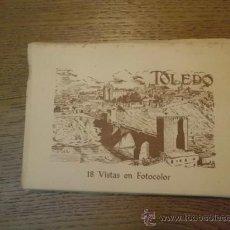Postales: ACORDEON POSTAL TOLEDO A-14. Lote 35274380