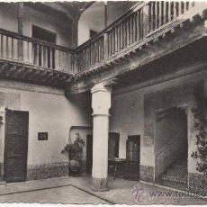 Postales: TOLEDO.- PATIO DE LA CASA DEL GRECO.. Lote 35302267