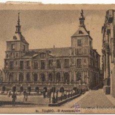 Postales: TOLEDO.- EL AYUNTAMIENTO. (C.1945).. Lote 35302452