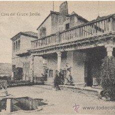 Postales: TOLEDO.- CASA DEL GRECO. JARDÍN.. Lote 35342119