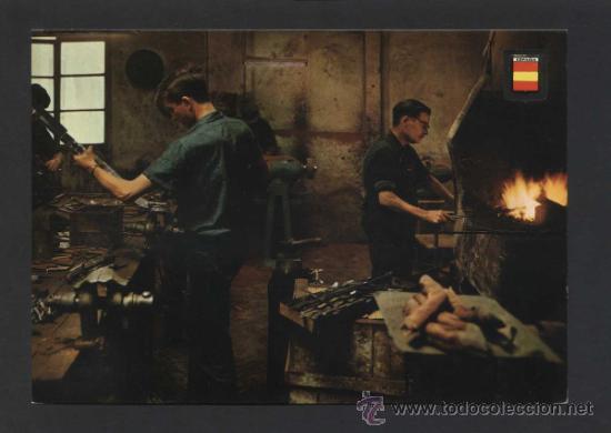 ALBACETE. *ARTES Y OFICIOS...* ED. COM. ESCUDO DE ORO Nº 3329. NUEVA. (Postales - España - Castilla la Mancha Moderna (desde 1940))