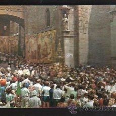 Postales: TARJETA POSTAL DE TOLEDO - LA CUSTODIA EN PROCESION. 1954. ARRIBAS. Lote 176505500