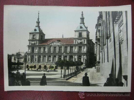 TOLEDO - AYUNTAMIENTO - POSTAL FOTOGRAFICA (Postales - España - Castilla La Mancha Antigua (hasta 1939))
