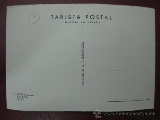 Postales: TOLEDO - AYUNTAMIENTO - POSTAL FOTOGRAFICA - Foto 2 - 35989801