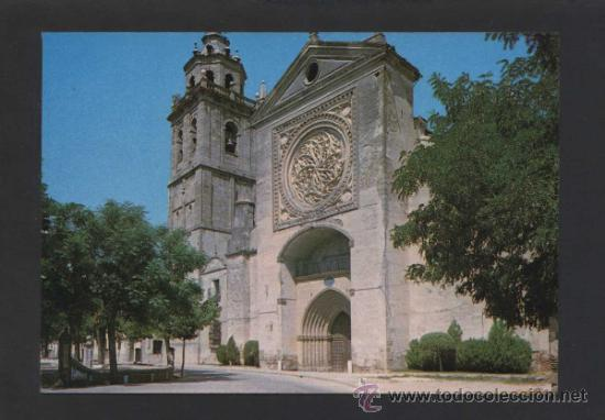 TALAVERA DE LA REINA *COLEGIATA...* ESCRITA. (Postales - España - Castilla la Mancha Moderna (desde 1940))