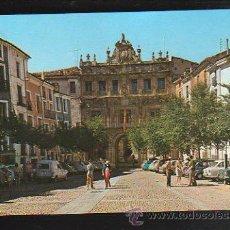 Cartes Postales: TARJETA POSTAL DE CUENCA - AYUNTAMIENTO Y PLAZA MAYOR. Nº 27. DOMINGUEZ. Lote 36232915
