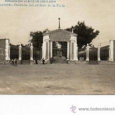 Postcards - albacete. fachada edificio feria. fotográfica. bazar collado - 36574516