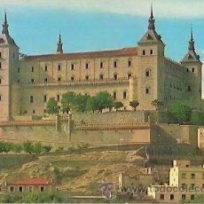 Cartes Postales: POSTAL A COLOR TOLEDO EL ALCAZAR ESCRITA ARRIBAS. Lote 36593496