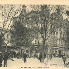 Postales: MUY BUENA POSTAL DE ALBACETE - PLAZA DEL CAUDILLO - Nº 1 DE ROISIN . Lote 36987011