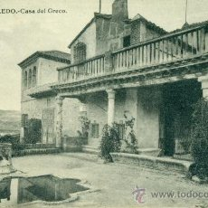 Postales: TOLEDO CASA DEL GRECO. Lote 37127127