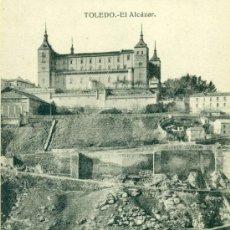 Postales: TOLEDO EL ALCAZAR. Lote 37127246