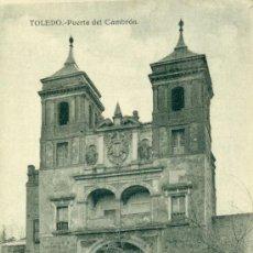 Postales: TOLEDO PUERTA DEL CAMBRÓN. Lote 37127277