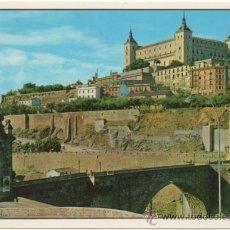 Postales: TOLEDO.- PUENTE ALCÁNTARA Y ALCÁZAR.. Lote 37503060