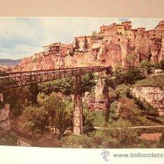 Postales: CUENCA CASAS COLGADAS Y PUENTE DE SAN PABLO . Lote 37778134