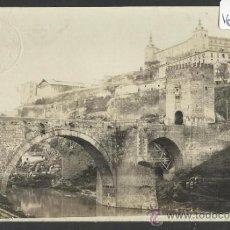 Postales: TOLEDO - PUENTE DE ALCANTARA Y EL ALCAZAR - FOTOGRAFICA - J. ROMEU TORRES - (16.731). Lote 37887024