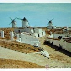 Postales: POSTAL CAMPO DE CRIPTANA MOLINOS DE VIENTO ED VDA MOISÉS MATA AÑOS 70 SIN CIRCULAR. Lote 38020541