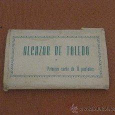 Postales: DESPLEGABLE DE POSTALES DE ALCAZAR DE TOLEDO. Lote 38025488