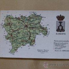 Postales: POSTAL. ALBACETE. ALBERTO MARTÍN, EDITOR.. Lote 38125309