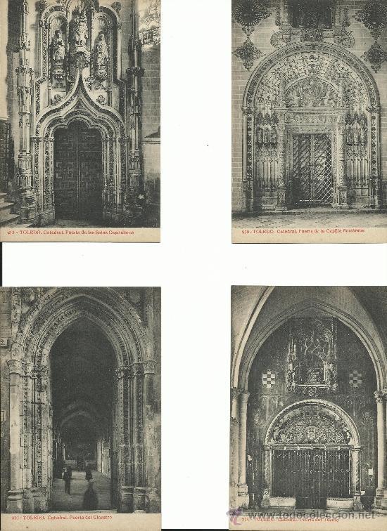 Postales: TOLEDO.-JOYAS DE ESPAÑA 1ª COLECCION .- SERIE 11.-OBRAS MONUMENTALES - Foto 3 - 38485978