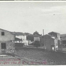 Postales: VALVERDE DEL JÚCAR (CUENCA).- FOTOGRAFÍA MEDIDAS 13,5 X 8,5 CMS. Lote 38682473