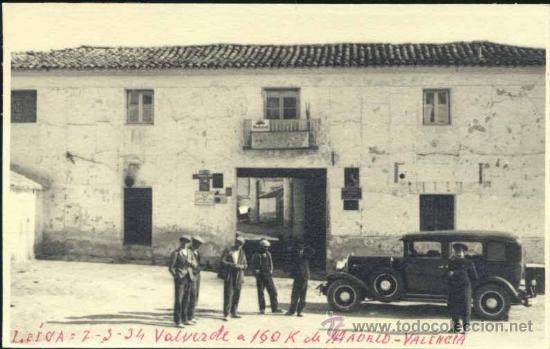 VALVERDE DEL JÚCAR (CUENCA).- FOTOGRAFÍA MEDIDAS 13,5 X 8,5 CMS (Postales - España - Castilla La Mancha Antigua (hasta 1939))
