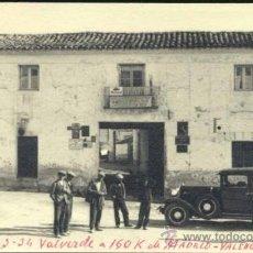 Postales: VALVERDE DEL JÚCAR (CUENCA).- FOTOGRAFÍA MEDIDAS 13,5 X 8,5 CMS. Lote 38682489