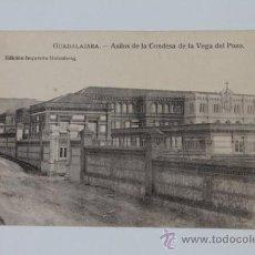 Postales: POSTAL. GUADALAJARA. ASILOS DE LA CONDESA DE LA VEGA DEL POZO. ED. GUTENBERG.. Lote 38925820