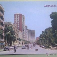 Postales: ALBACETE. AVDA. RODRIGUEZ ACOSTA. ED, PARIS. Lote 39371402
