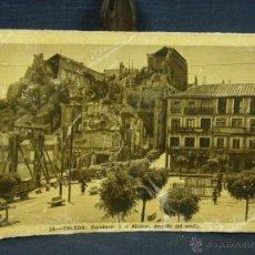 Postales: POSTAL 14 TOLEDO ZOCODOVERY EL ALCAZAR DESPUES DEL ASEDIO CIRCULADA 1950 ED HELIOTIPIA ARTÍSTICA ESP. Lote 39644719