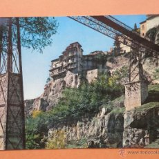 Postales: PTE SAN PABLO Y CASAS COLGADAS. CUENCA. ED. GARCÍA GARRABELLA. Lote 39739900