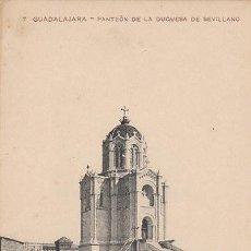 Postales: GUADALAJARA, PANTEÓN DE LA DUQUESA DE SEVILLANO. NO DICE EL EDITOR, Nº 7. Lote 39881399