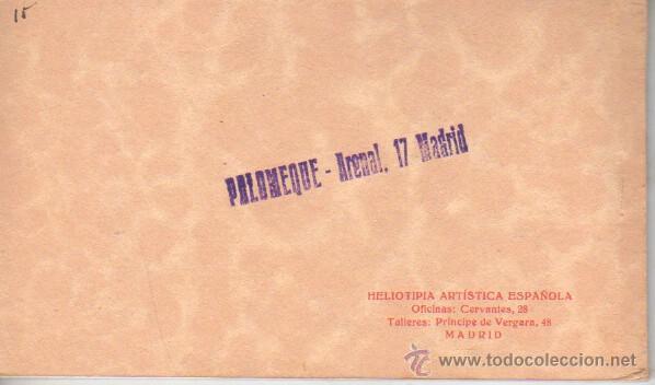 Postales: bloc postal de toledo - tercra serie cromo color palomeque madrid - help.artistica española - Foto 2 - 39899920