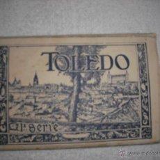 Postales: TOLEDO. ACORDEON DE 10 POSTALES. HELIOTIPIA ARTISTICA ESPAÑOLA.. Lote 39990436