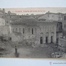 Postales: POSTAL. TOLEDO. EXTERIOR DEL CRISTO DE LA LUZ. Nº 4. ED. GARRIDO. SIN CIRCULAR.. Lote 40237945